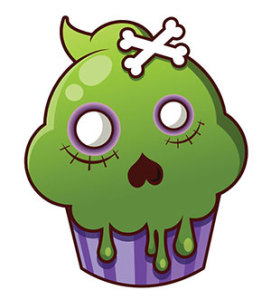 Cupcake_Flat_greenonly